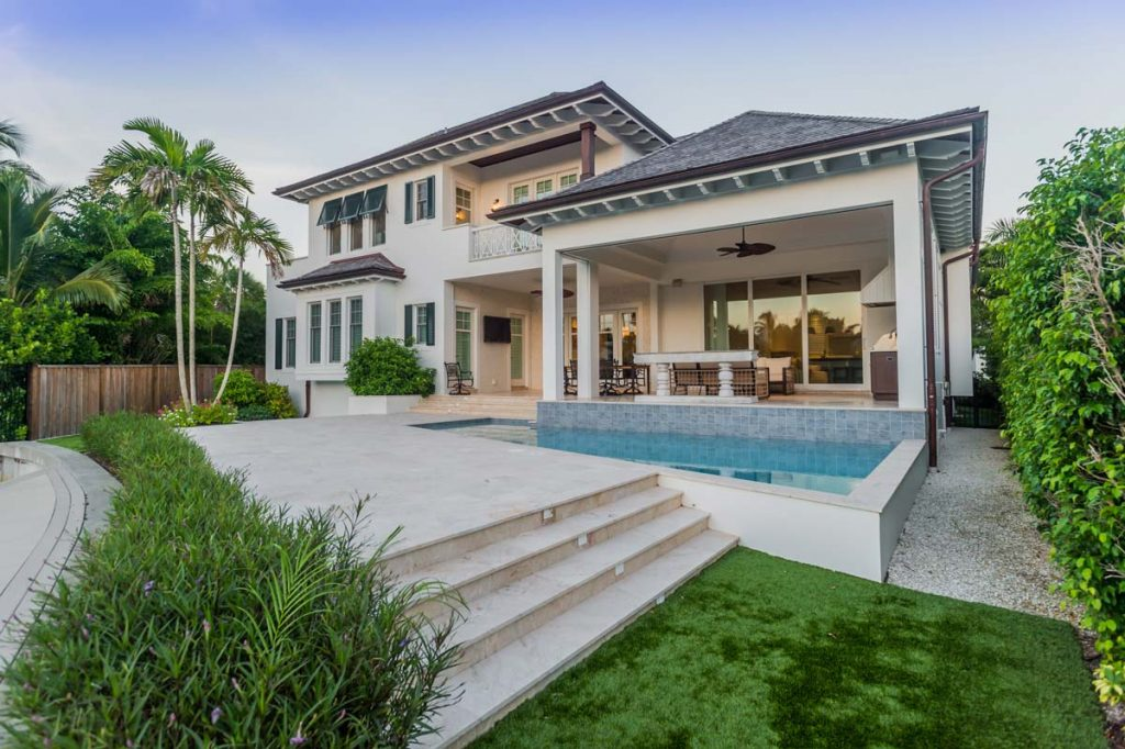 Caribbean Style New Construction With Pool In Naples, Florida   Nourse  Building Company