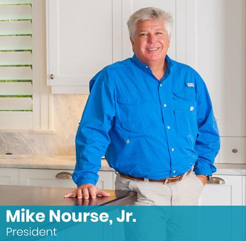 Mike Nourse, Jr., President, Naples, Florida - Nourse Building Company