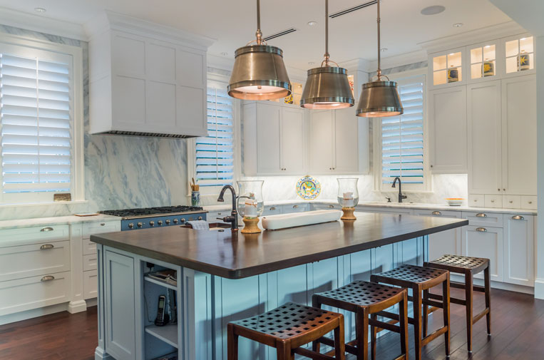 Luxury kitchen remodel in Naples, Florida - Nourse Building Company
